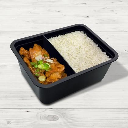 Mushroom Chicken With Rice 冬菇鸡饭